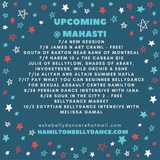 July @ Mahasti