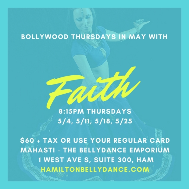 BOLLYWOOD THURSDAYS IN MAY