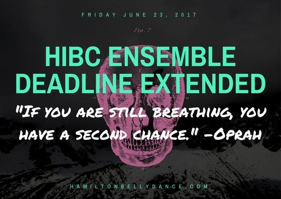 hibc ensembledeadline extended