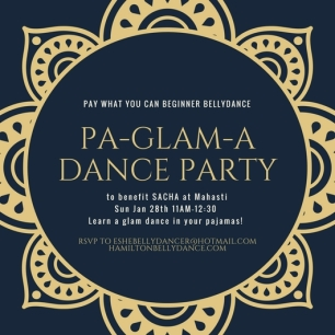 pa-Glam-adance Party