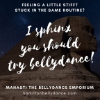 try bellydance