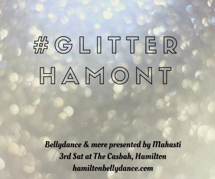 glitter hashtag