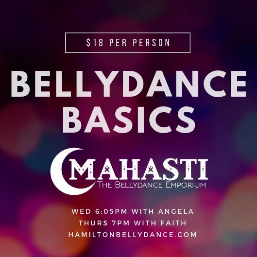 bellydance basics