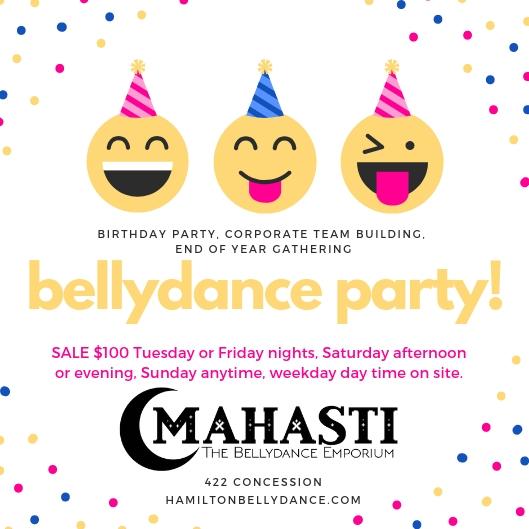 bellydance party