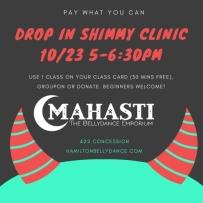 shimmy clinic oct